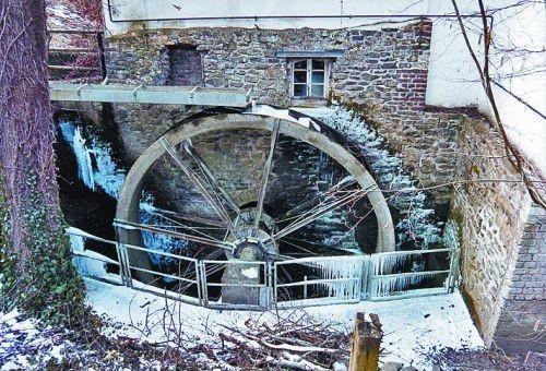 Foto der Mühle in Villip
