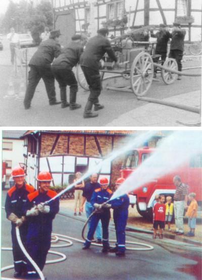 Fotos von der Feuerwehr