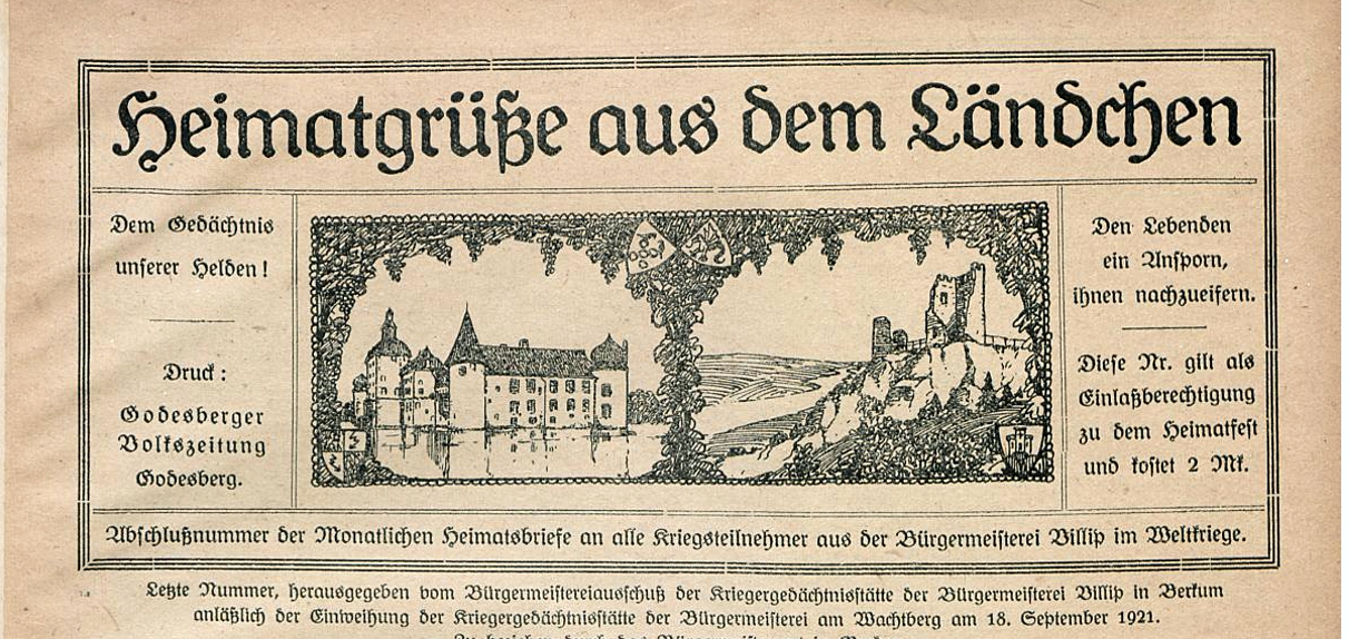 Newsletterarchiv vom Heimatverein